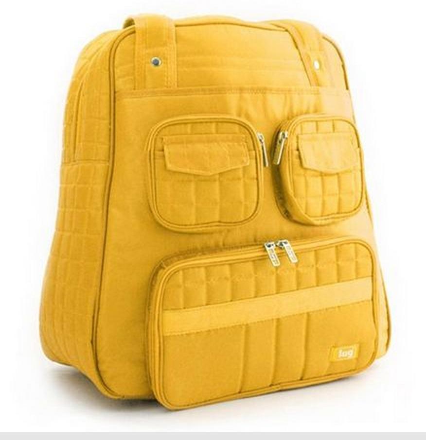 Lug puddle jumper bag