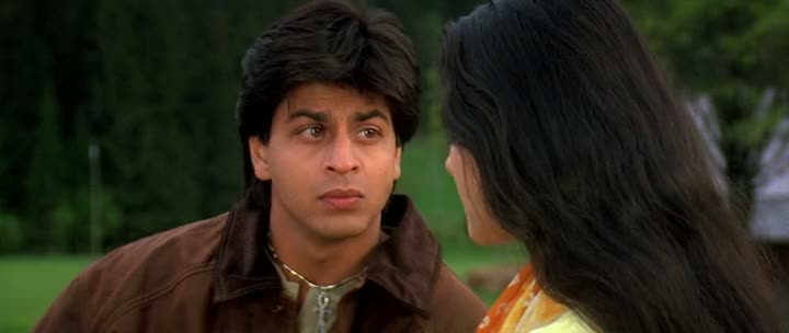 Screen Shot Of Hindi Movie Dilwale Dulhania Le Jayenge 1995 300MB Short Size Download And Watch Online Free at worldfree4u.com