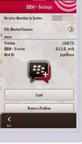 Download BBm Plus for Android