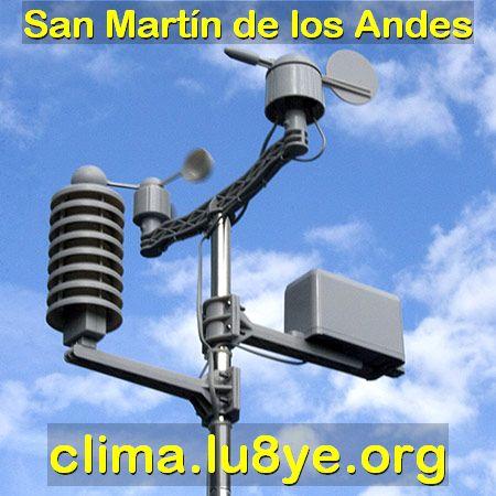 El clima en San Martín de los Andes