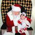 "Classic! Santa Does The Patrick Reed ""Shhhh"" To Patrick Reed's Kid"
