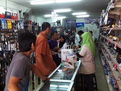 JoranPancing Menjengah TCE Tackle Wakaf Che Yeh Kota Bharu
