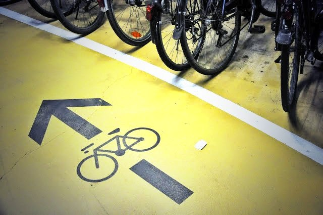 marcas viales ciclistas carril bici salamanca