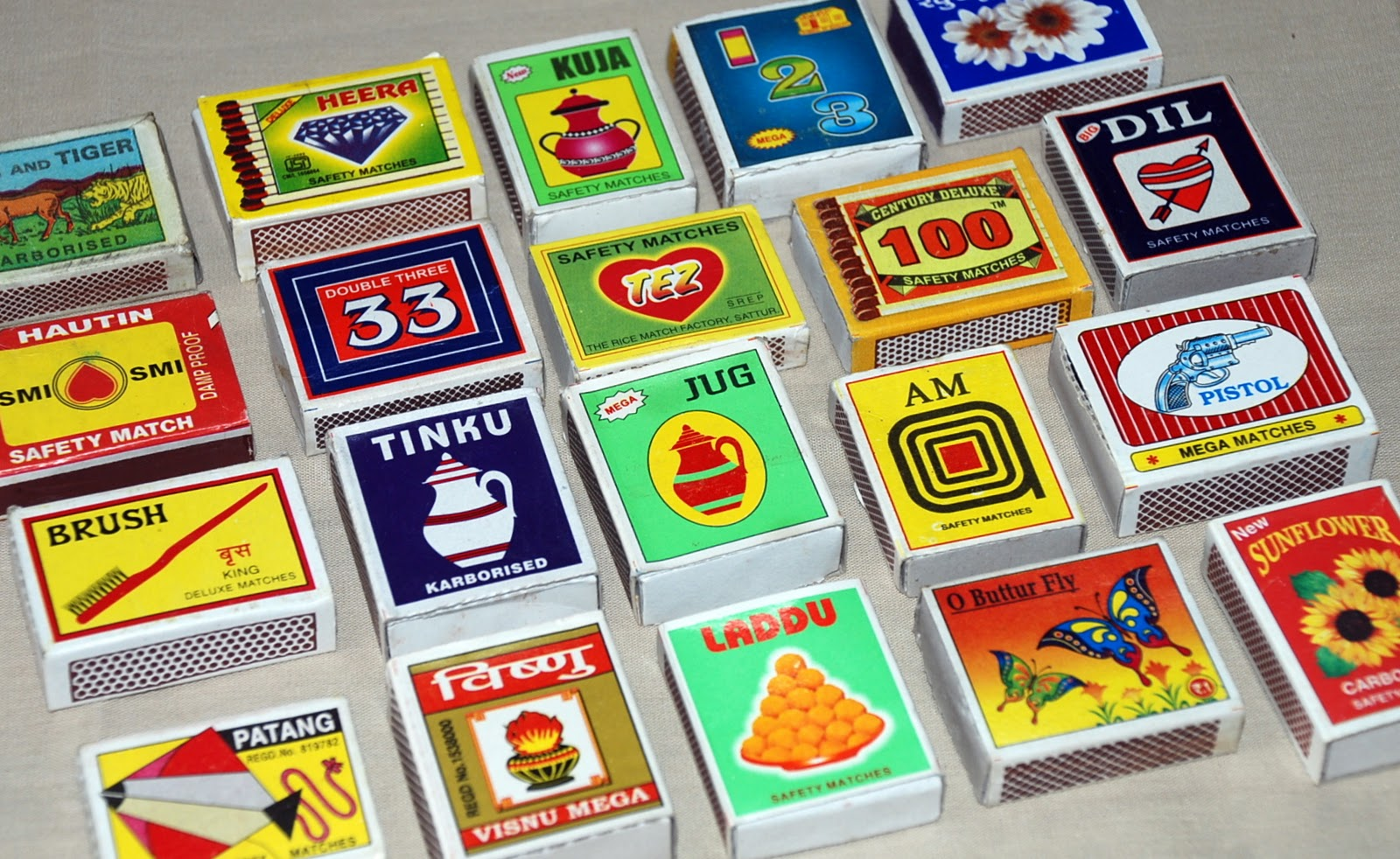 Matchboxes And Labels Collection India