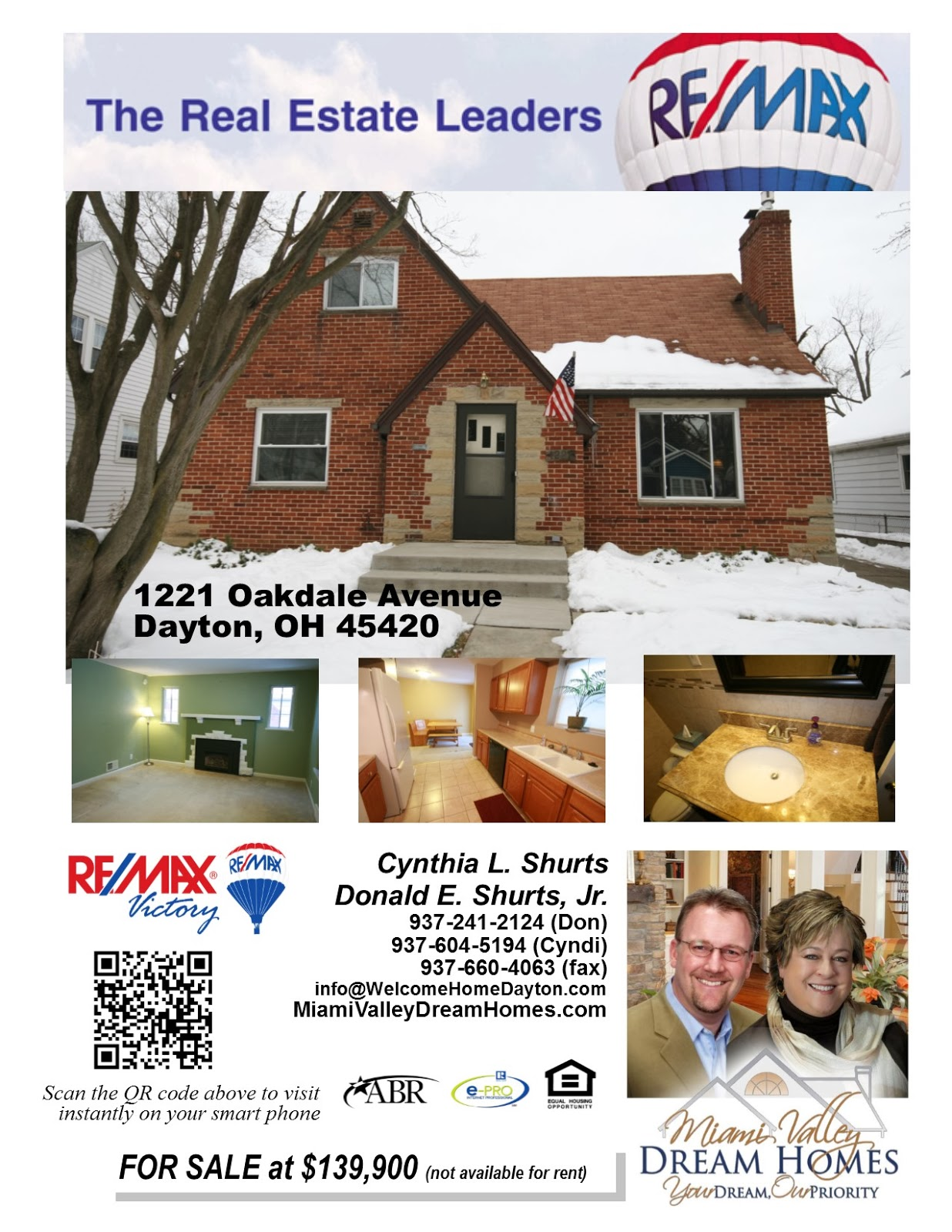 Beautiful Dayton Home For Sale With Many Great Updates!!