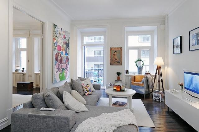 Дизайн интерьера квартир скандинавский стиль