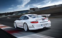 Limited edition racing car: Porsche 911 GT3 RS 4.0 back