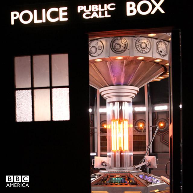 Doctor Who TARDIS inside