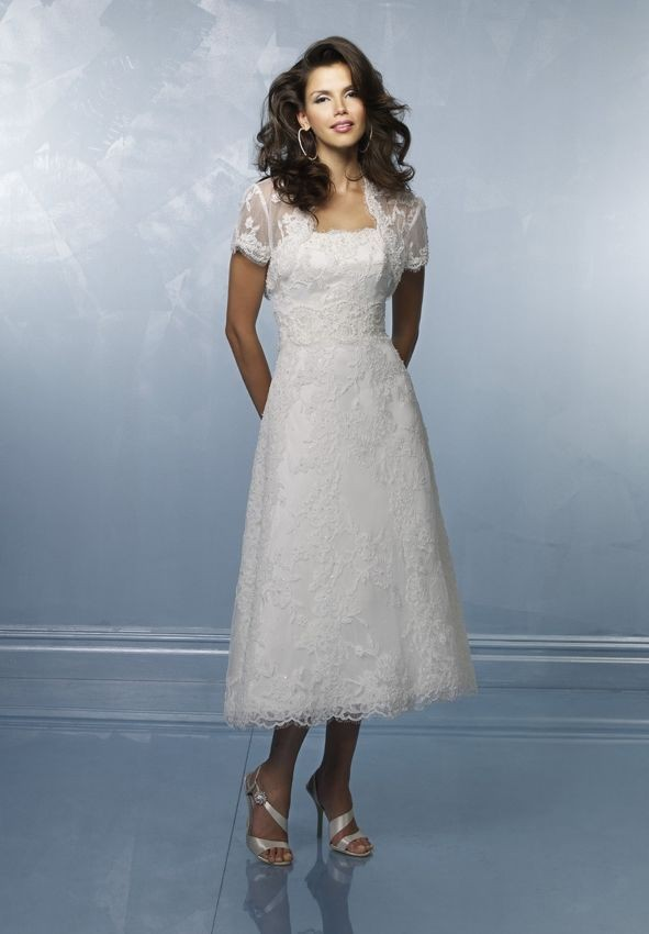 Whiteazalea simple dresses different fabrics create for Simple tea length wedding dresses