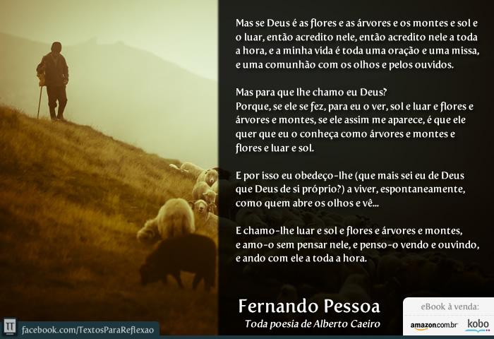 Favoritos Textos para Reflexão: Lançamento: Toda poesia de Alberto Caeiro NR06