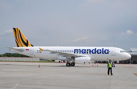 Mandala Airlines Airbus A320 PK-RMT