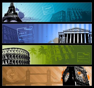 4 fondos distintos de viajes