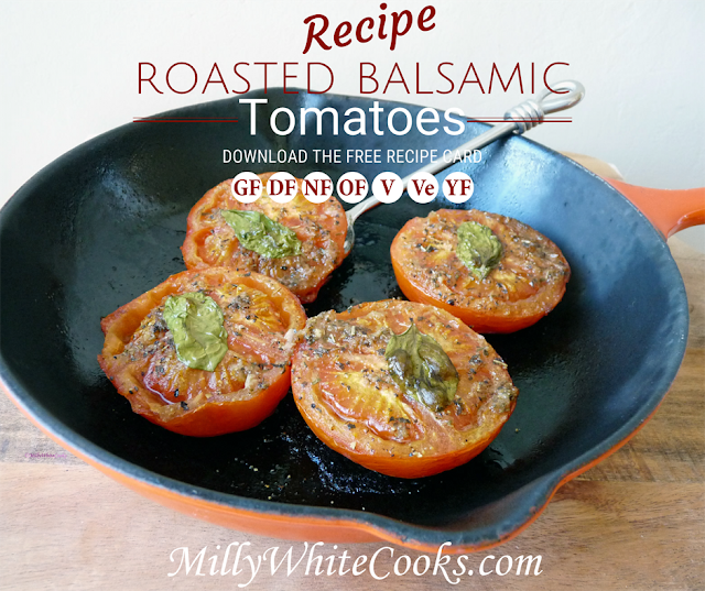 Roasted Balsamic Tomatoes Recipe