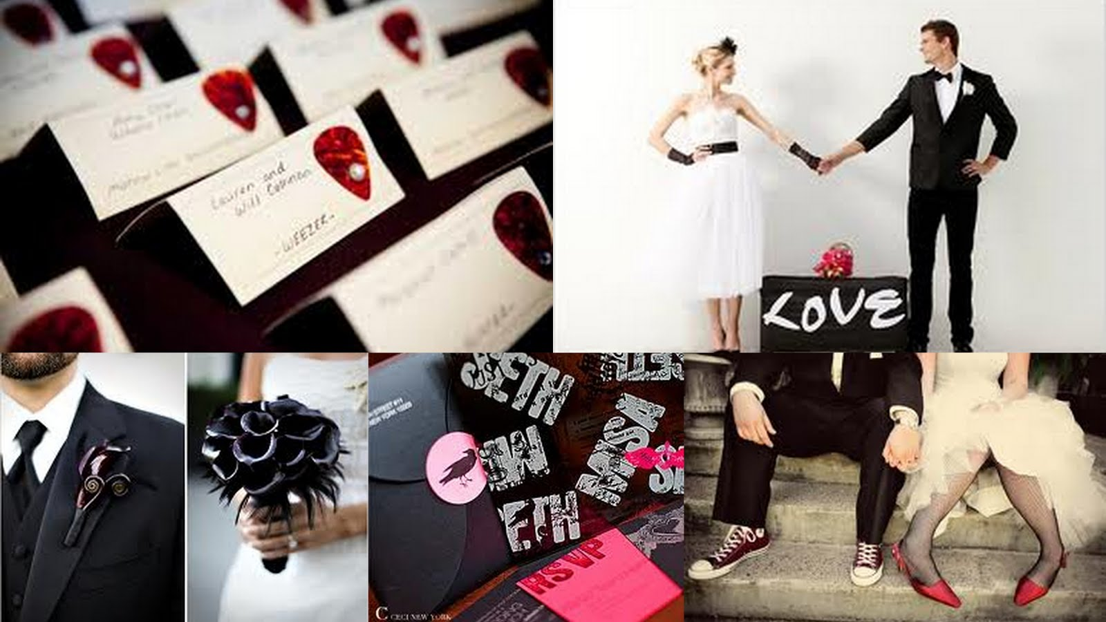 1000 images about rock roll wedding theme on