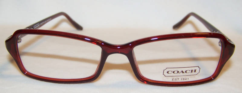 Coach Eyeglass Frames Burgundy : secretbargains2: Coach Concetta Eyeglasses - Burgundy 49 ...