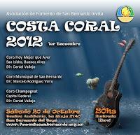Encuentro coral en San Bernardo