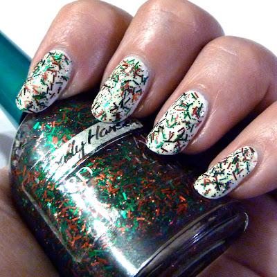 Sally Hansen Festive nail polish swatch