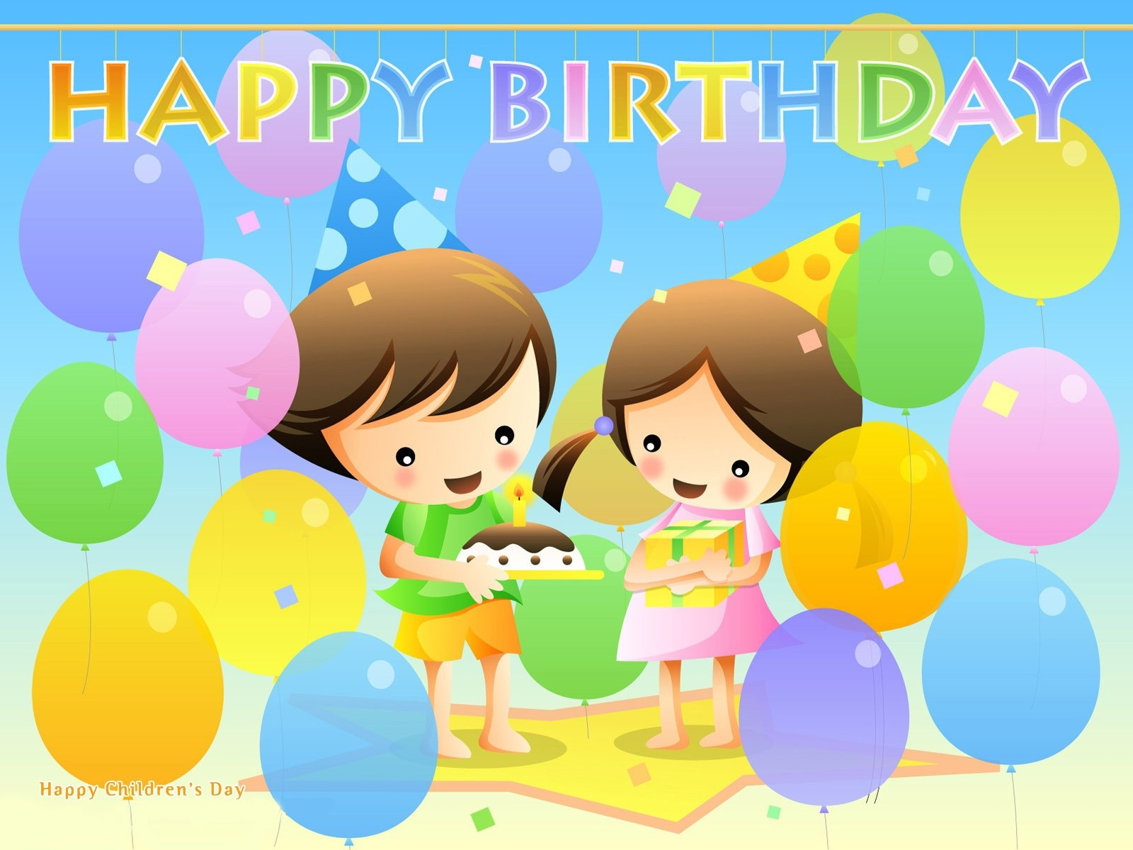 Old Fashioned Happy Birthday Art For Facebook Wall Photos - Wall Art ...