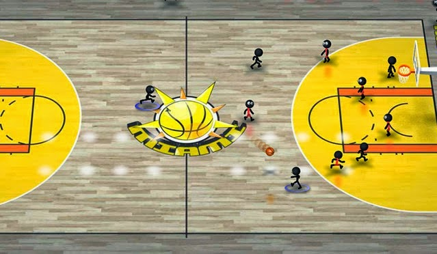 Stickman Basketball android game