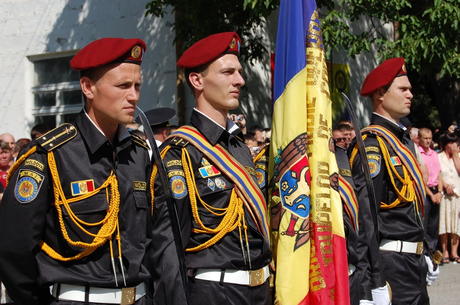 world military and police forces moldova