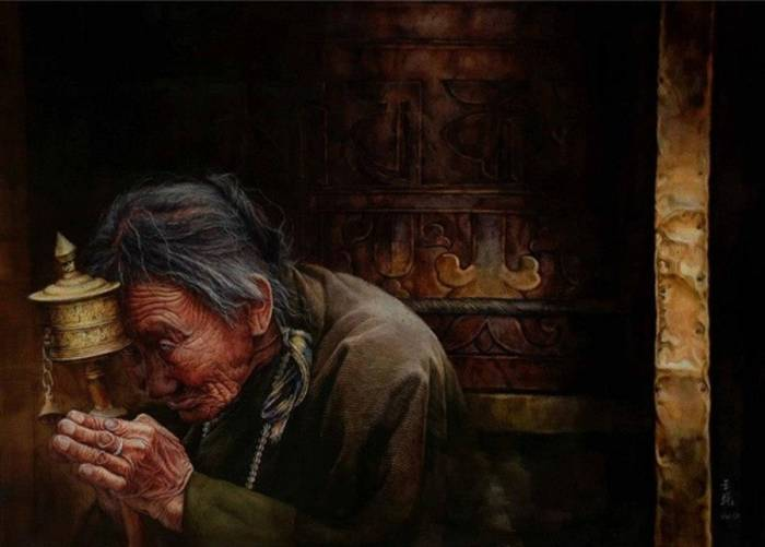 Jiao Liqiang «Prayer».""