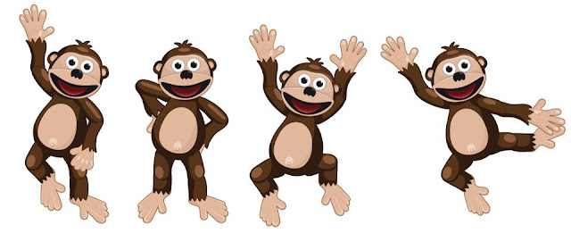Imágenes del Mono Bubba.