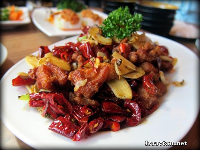Deep-fried Diced Chicken in Szechuan Style - RM20