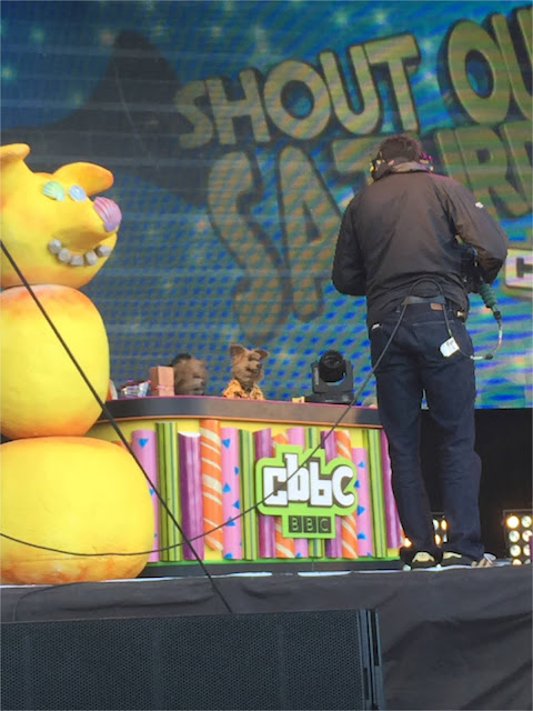 Blackpool CBBC Shout Out Saturday Hacker Dodge
