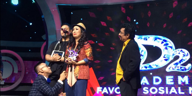 Pemenang Favorite Social Media Dangdut Academy 2