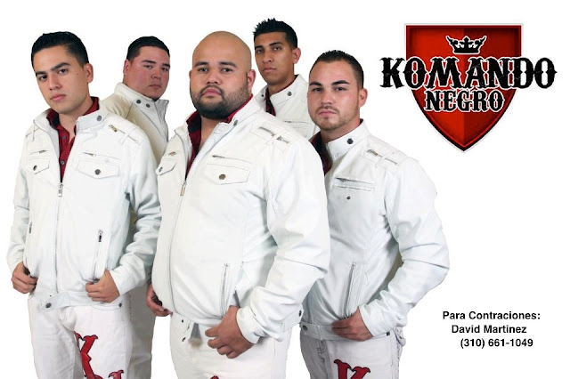 Komando Negro - En Vivo FP CD Album 2013