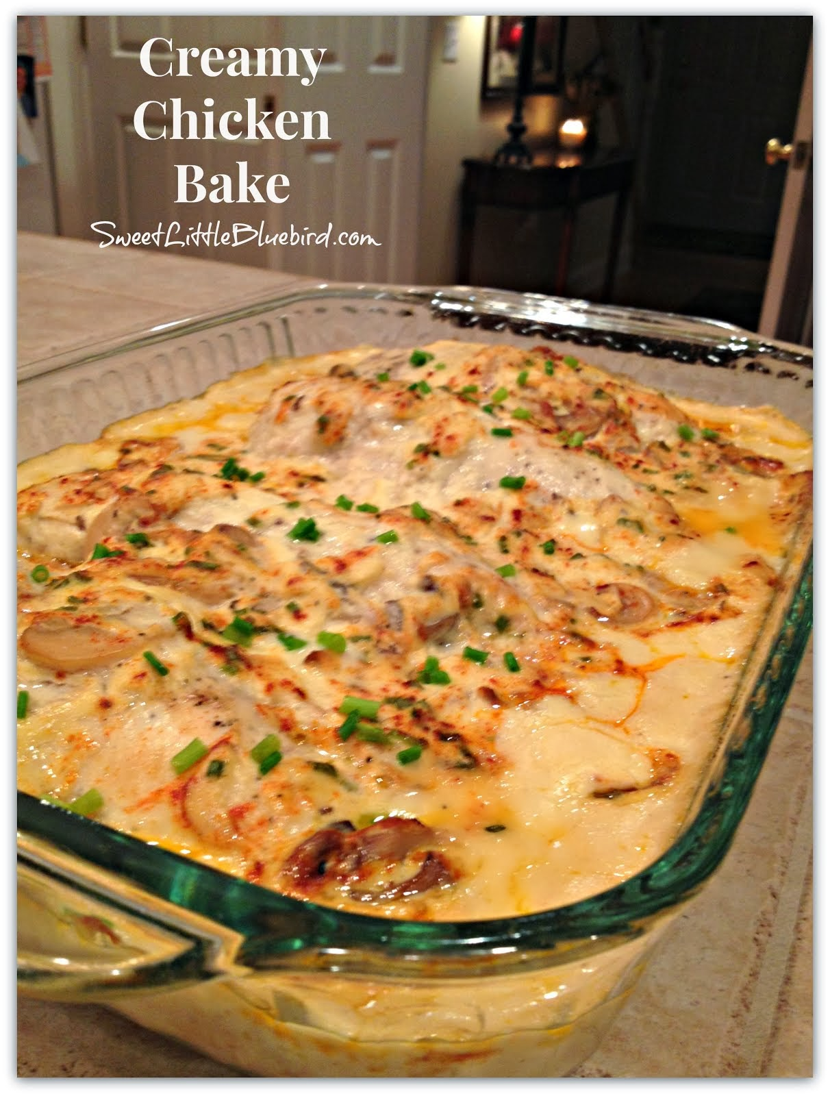 Creamy Chicken Bake - Family Favorite!!!