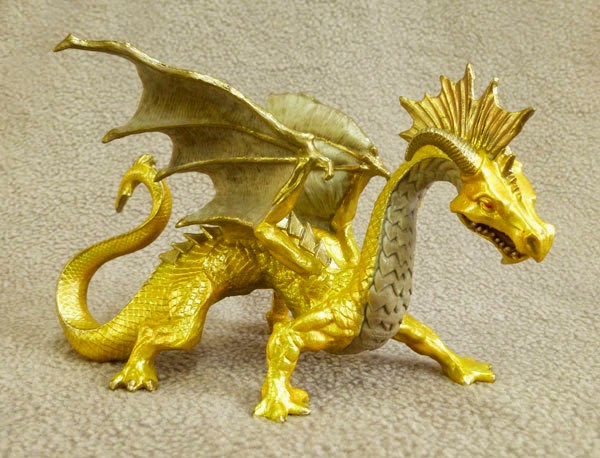 Golden Dragon Toy