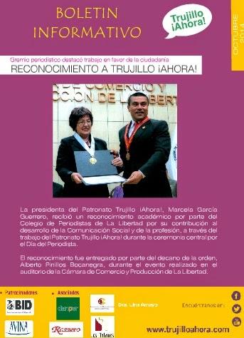 Boletín Trujillo ¡Ahora! -Octubre
