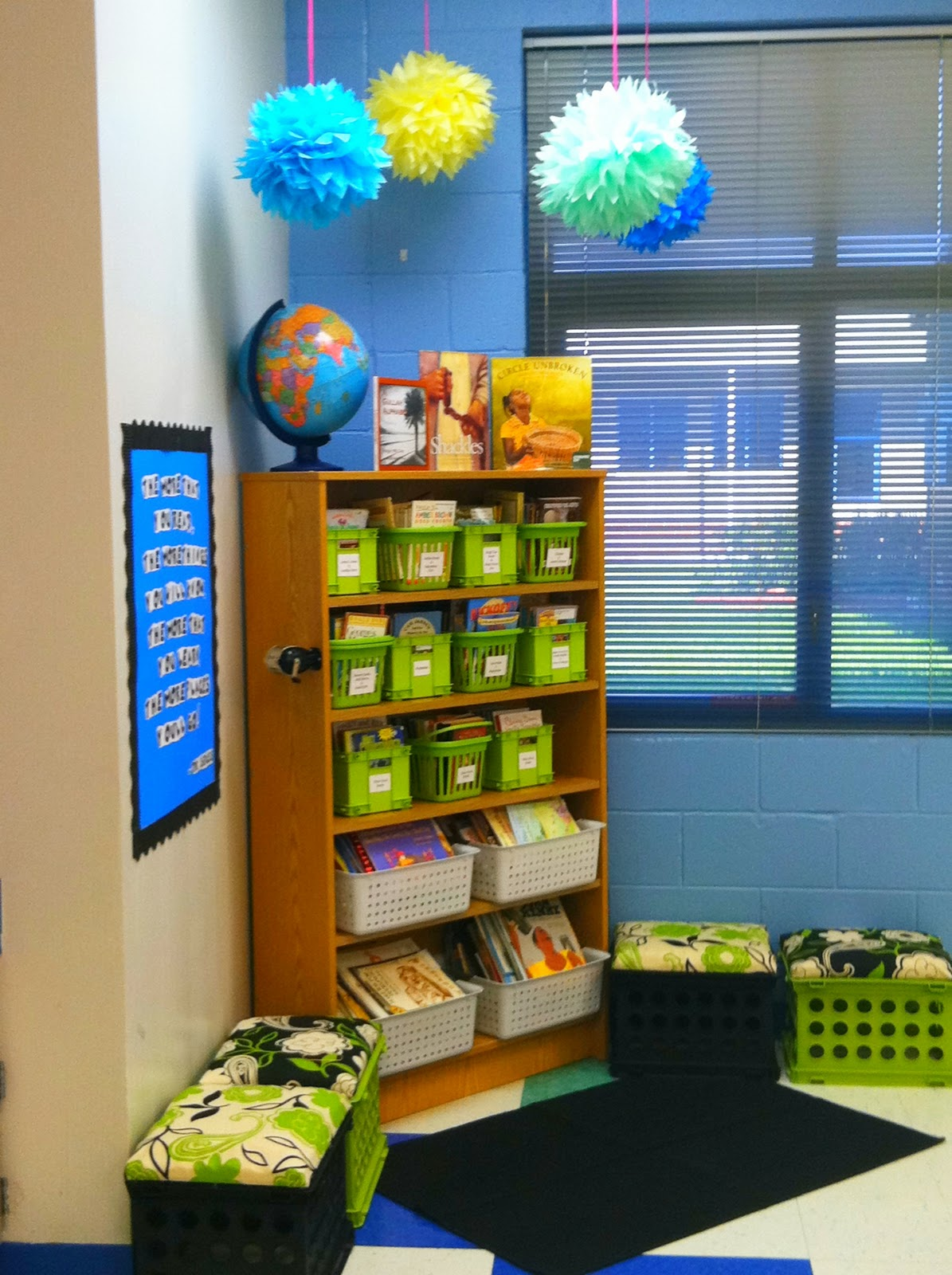 Reading Classroom Decorations ~ Tupelo honey my classroom