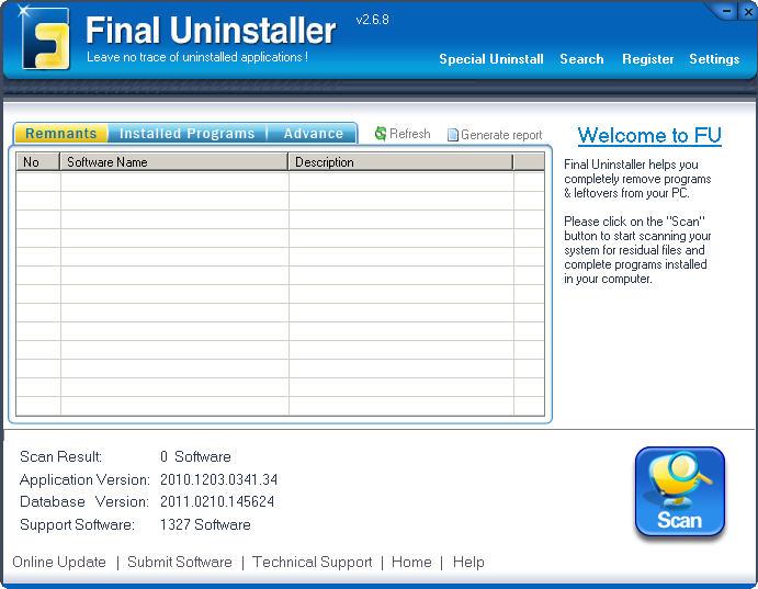 Perfect uninstaller v6.3.3.5 serials
