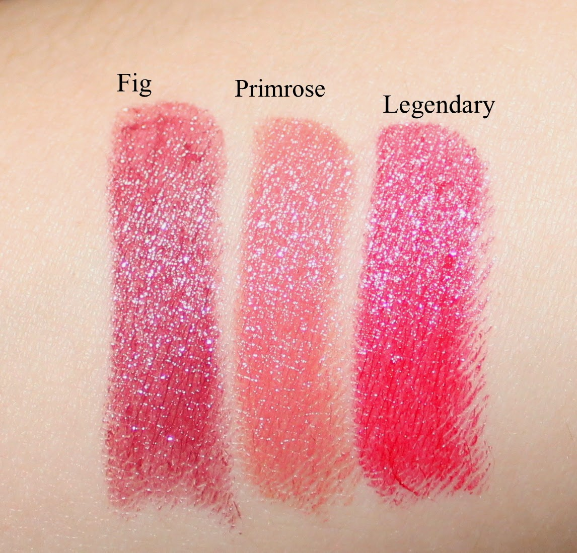 Smashbox On the Rocks Legendary Lipstick Trio Swatches