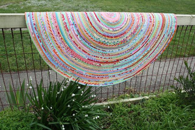 fabric rug by ricrac