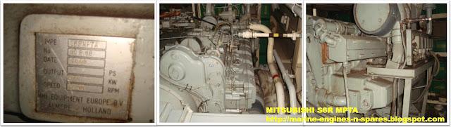 Mitsubishi marine engine parts for sale, Mitsubishi S6R marine engine parts for sale