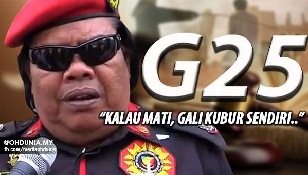 Rani Kulup Ingatkan Kumpulan G25