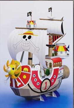 One Piece - Ship Papercraft Thousand Sunny by Toei Anime