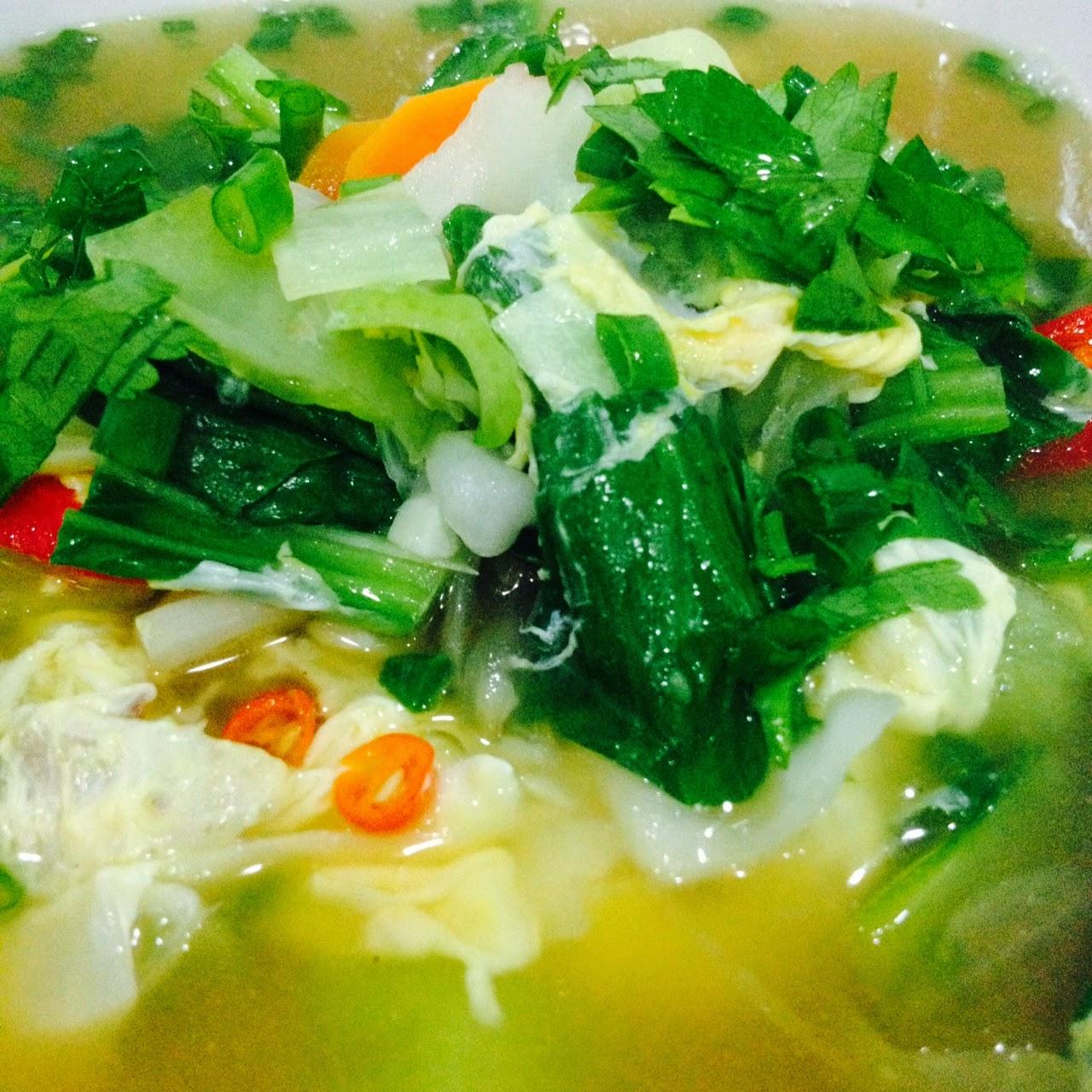 Cik Wan Kitchen Sup Sayur Mudah