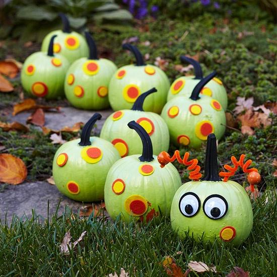 Centipede Pumpkins