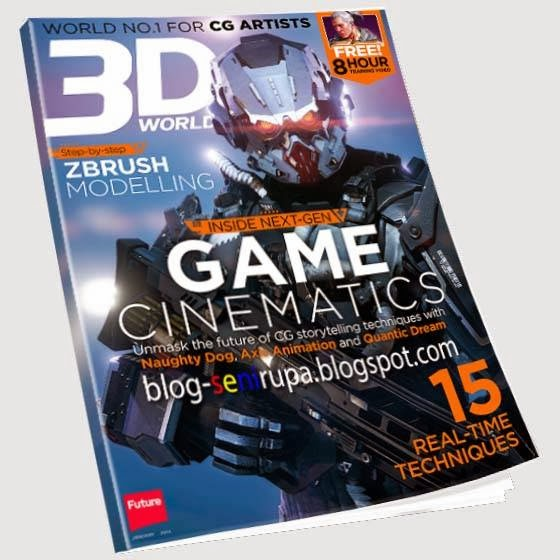 3DWorld Magazine January 2014