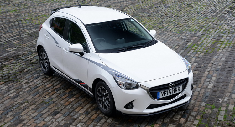 mazda 2 gains sport black edition in the uk. Black Bedroom Furniture Sets. Home Design Ideas