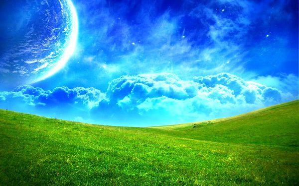 Ternyata Langit dan Bumi Pernah Bersatu!
