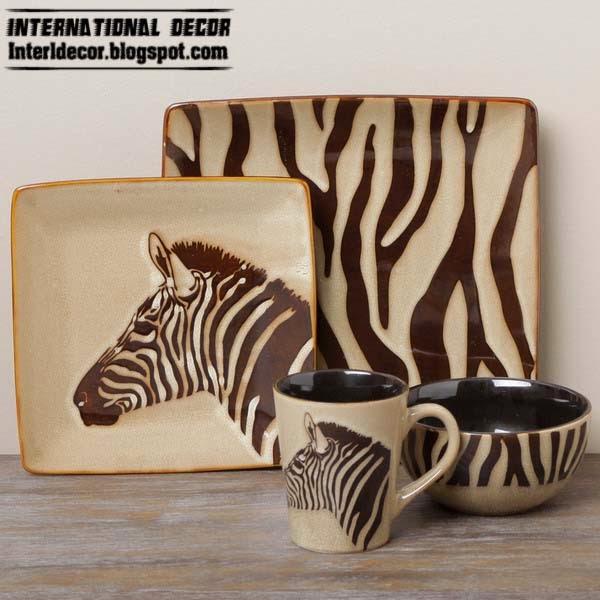 Zebra Kitchen Set Part - 18: The best Zebra print decor ideas for interior designs - Davotanko Home  Interior