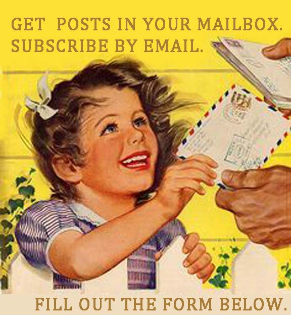 GET POSTS IN YOUR EMAIL BOX.