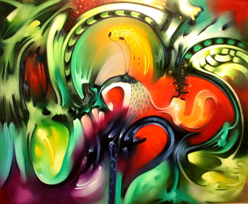 Pintura moderna y fotograf a art stica galer a for Imagenes de cuadros abstractos con relieve