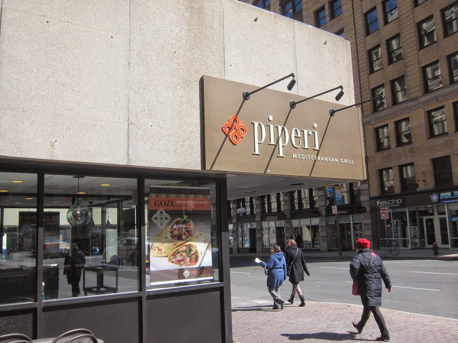 Piperi Mediterranean Grill in Boston | The Economical Eater