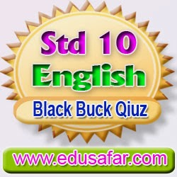 Standard 10 English Black buck Quiz